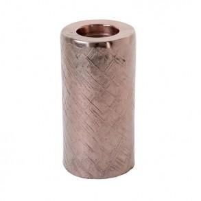 Κηροπήγιο αλουμινίου 12x25cm