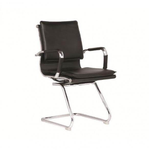 Καρέκλα επισκέπτου σε μαύρο χρώμα