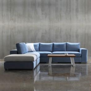 Καναπές γωνία σε μοντέρνο σχεδιασμό