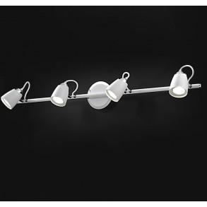 Μεταλλικό φωτιστικό σποτ LED 4x6.5W