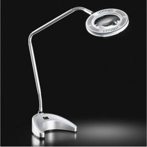 Πορτατίφ  γραφείου με μεγενθυντικό φακό LED 5.4W