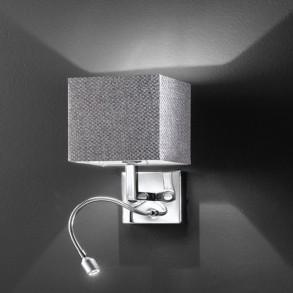 Design φωτιστικό τοίχου με extra εύκαμπτο σπιράλ LED 1W