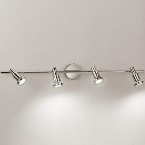 Μεταλλικό φωτιστικό τοίχου LED 4x3W