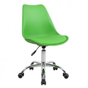 Καρέκλα γραφείου σε πράσινο χρώμα