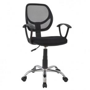 Καρέκλα γραφείου σε μαύρο χρώμα