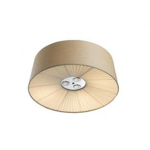 Φωτιστικό οροφής με ύφασμα Φ70