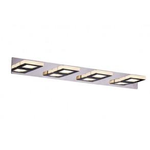 Τετράφωτο σπότ LED φωτιστικό σε ράγα L66