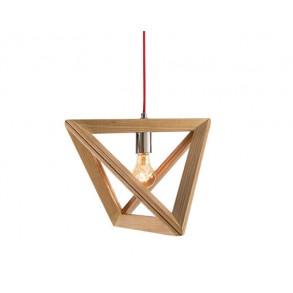 Κρεμαστο φωτιστικό ξύλινο Φ37