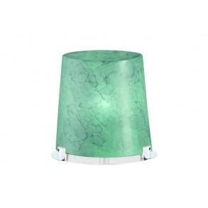 Επιτραπέζιο γυάλινο φωτιστικό H20cm