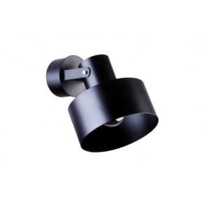 Μεταλλικό μαύρο σποτ Ø15cm