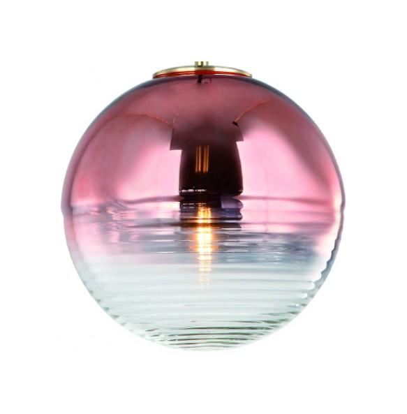 Γυάλινο φωτιστικό με σφαιρικό σχήμα Ø28cm