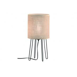 Επιτραπέζιο υφασμάτινο φωτιστικό Ø18cm