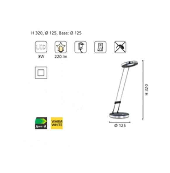 Πορτατίφ Gexo LED