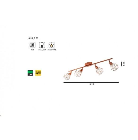 Σποτ LED ραγα L63.5