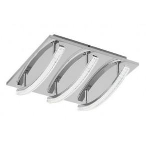 Φωτιστικό οροφής από ατσάλι LED 30x30