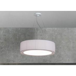 Εξάφωτο φωτιστικό οροφής Φ60 σε δύο χρώματα