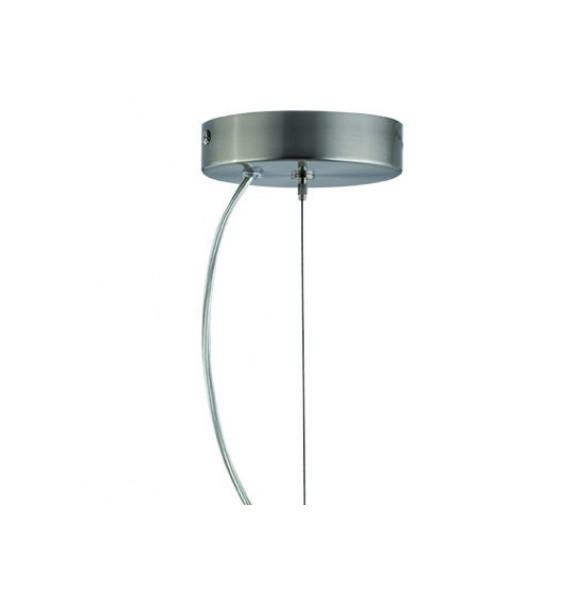 Γυάλινο φωτιστικό με χειροποίητο decor σάπιο μήλο Ø30
