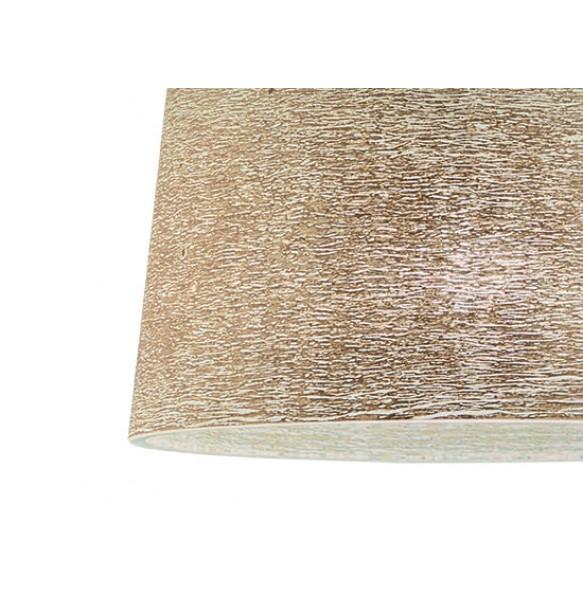 Γυάλινο φωτιστικό με χειροποίητο decor χρυσό Ø40