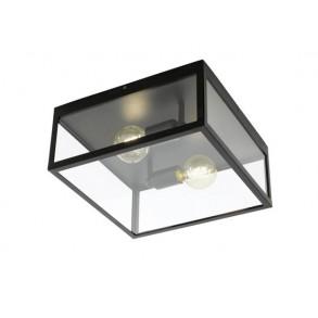 Πλαφονιέρα οροφής δίφωτη L36cm