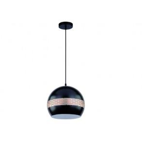 Κρεμαστό φωτιστικό με διάτρητο σχεδιασμό Ø30
