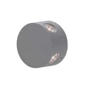 LED HIGH POWER απλίκα τοίχου 4x1W 16° 3000k