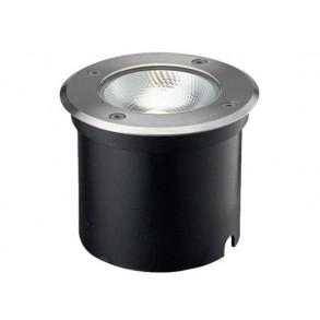 LED χωνευτό φωτιστικό εδάφους 7W 21° 3000k