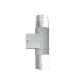 LED φωτιστικό τοίχου 2x2W 120° 3000k