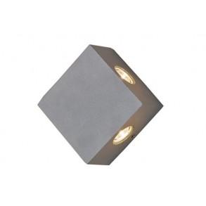LED HIGH POWER φωτιστικό τοίχου 4x1W 16° 3000k