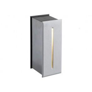 LED χωνευτό φωτιστικό τοίχου 3W 55° 3000k