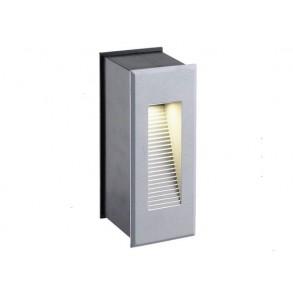 LED χωνευτό φωτιστικό τοίχου 1x3W 23° 3000k