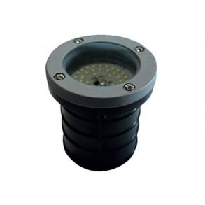 LED χωνευτό φωτιστικό εδάφους 2.6W 120° 6000k