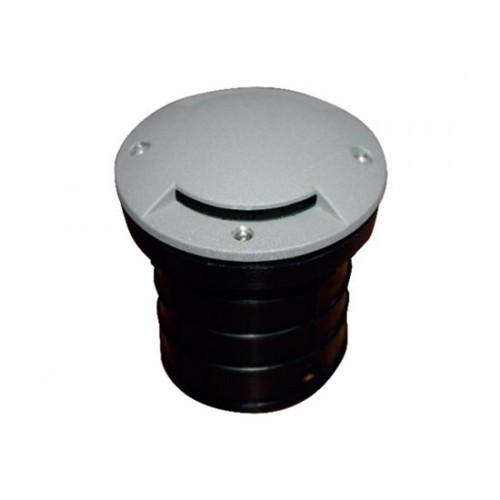 LED χωνευτό φωτιστικό δαπέδου μια δέσμης 2.6W  3000k