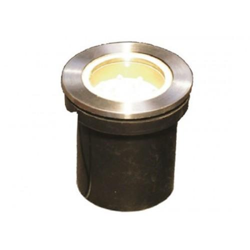 LED χωνευτό φωτιστικό δαπέδου 12LEDx1.2W 120°