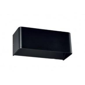 LED απλίκα αλουμινίου 2x3W 3000k