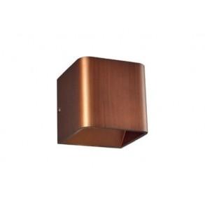 LED  απλίκα  σε απόχρωση ξύλου 3W 3000k