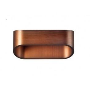 LED  απλίκα σεαπόχρωση ξύλου 3W 3000k
