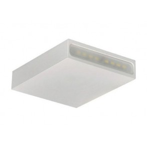 LED  φωτιστικό τοίχου 4W 3000k 100x100mm
