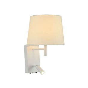 LED απλίκα τοίχου σε λευκό χρώμα 3W  3200k