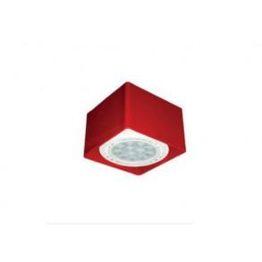 LED μεταλλικό φωτιστικό οροφής 120x120mm