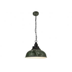 Κρεμαστό φωτιστικό σε πράσινο χρώμα Ø37