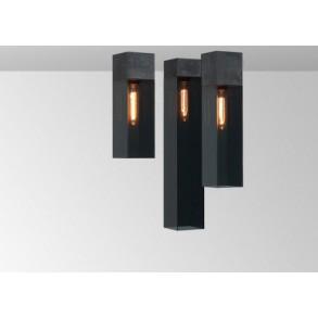 Φωτιστικό οροφής plexi σε μαύρο