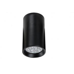 Σποτ φωτιστικό μαύρο Φ6.3