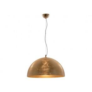Κρεμαστό φωτιστικό με φύλλα χρυσού Ø50