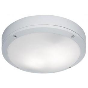 Πλαφονιέρα εξωτερικού χώρου Φ27,5 σε λευκό χρώμα