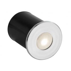 Απλίκα χωνευτή με LED Φ4