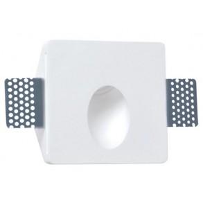 Σποτ τοίχου χωνευτό LED από γύψο