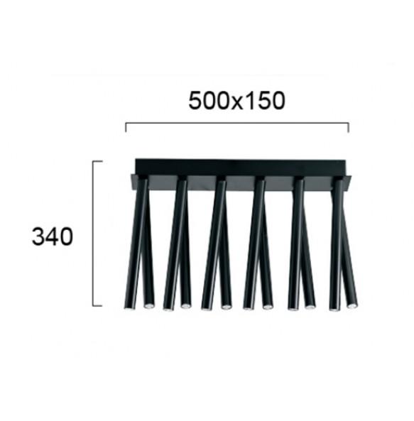 Πλαφονιέρα 50x15cm