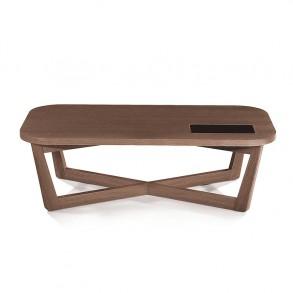 Μοντέρνο ξύλινο τραπεζάκι σαλονιού