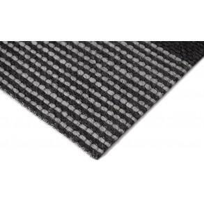 Χαλί Plex Γκρι/Μαύρο