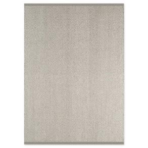 Χαλί Herringbone Γκρι/Λευκό